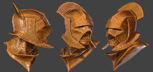3D Scan of: Lord of the Rings, Uruk-Hai head by Hal8998