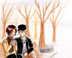 Hetalia APH : One day in the fall by youngthong-art