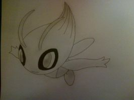 #251 Celebi by Rawwr-Art