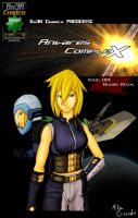 Antares Complex Issue 01 Cover by Gx3RComics