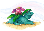 Pokemarathon - 003 Venusaur by MoonlostArts