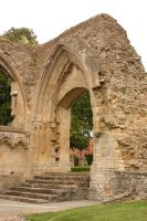Glastonbury Abbey 6 by FoxStox