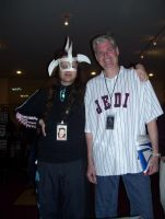 Me with Tom Kane by PaladinCecil