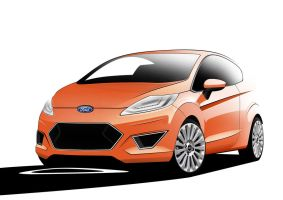 Ford Fiesta Facelift by jjhm