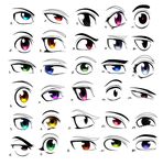 Eyes Practice by Takeuchi15
