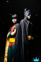 Batman and Robin by elitecosplay