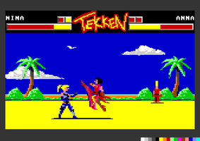 Tekken C64 by Andes-Sudo