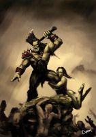 Orc by EspenG