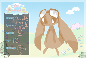 Sky Explorers : Mable Syrup by The-Pink-Green-Chibi