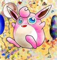 Wigglytuff Colour by Sulfura