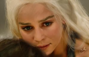 Daenerys by angelacypher