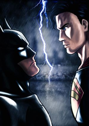 Batman V Superman - Dawn of Justice by Shight