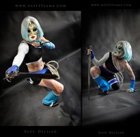 Blue Delilah Cosplay Commission 03 by Bastetsama-Cosplay