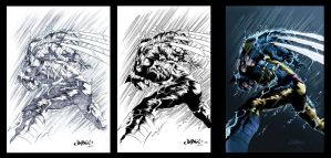 Wolverine by Jimbo Salgado Inks Revisited by TheInkPages