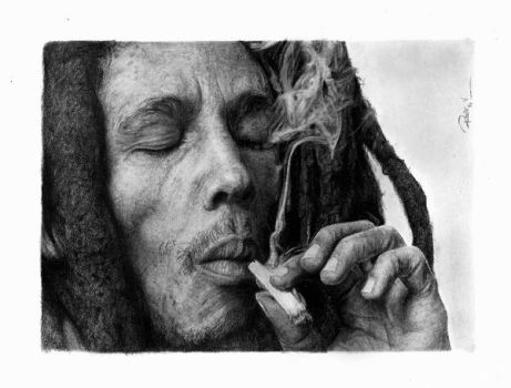 Bob Marley by reniervivas666