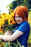 Sunflowers by Lapirin