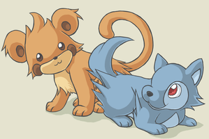 Puppies and Kittens by fuzzball288