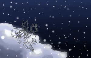 Christmas Eve (Wip maybe) by Amiookamiwolf