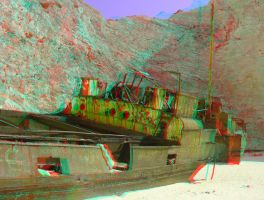 Zakynthos 18 3D Anaglyph by yellowishhaze