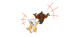 Phantump and Cubone by Matau228