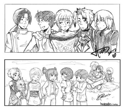 Suikoden - doodles 2 by msloveless