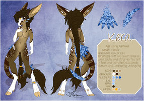 Kera Reference Sheet and Species Customs by Mirandarin