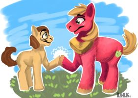 Brohoof by That-CrazyCat