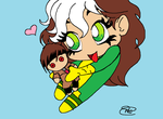 Rogue has a crush by Pradaninja