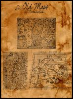 Six Old Maps - Brushset by Metamorphium