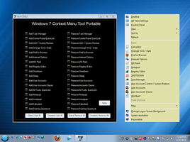 W7 Context Menu Tool Portable Updated by PC2012