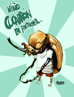 beetle boy in pantaloneta by Goretoon