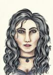 Yennefer of Vengerberg by PolinaGerman