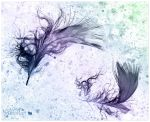 Feathers surreal by AStoKo by AStoKo