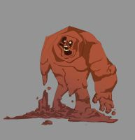 Clayface by TerminAitor