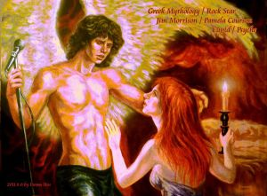 Cupid Jim Morrison and Psyche