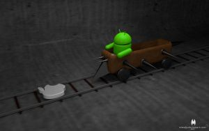 3D Android 4 by almahy