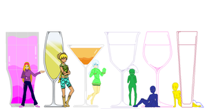 Pick a drink collab by itachirapist