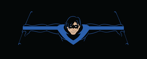 Simple Nightwing by dreaminpng