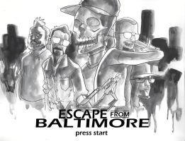 Escape From Baltimore by EvanBryce