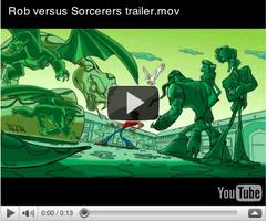 Rob vs. Sorcerers video test by LuisEscobar