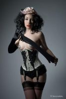 Burlesque doll by MarloMarquise