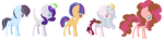 Dislikes Ships MLP Adoptables~ #1 [CLOSED] by MeowWoofOink
