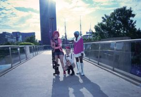 Darker than Black S2 Group by Akiko-chan-cos