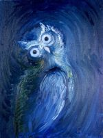 Blue Owl by Crazynerds
