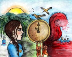 Tick Tock Painting by TheSearchingEyes
