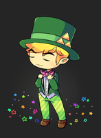 Fancy Toon Link by Drawn-Mario