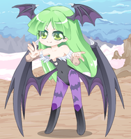 morrigan_in_vg_heroine by kiske-otoko