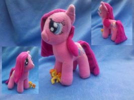 MLP: FiM 9-inch Pinkamena plush - completed! by vulpinedesigns