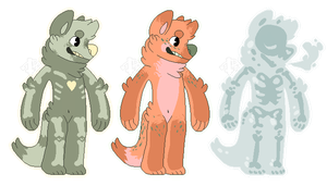 Canine adoptebles {paypal} 2/3 by LoserDoge