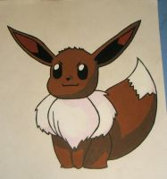 Eevee by HellboundVengeance